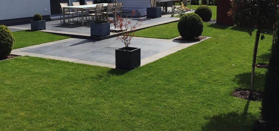 Symetrische Terrasse