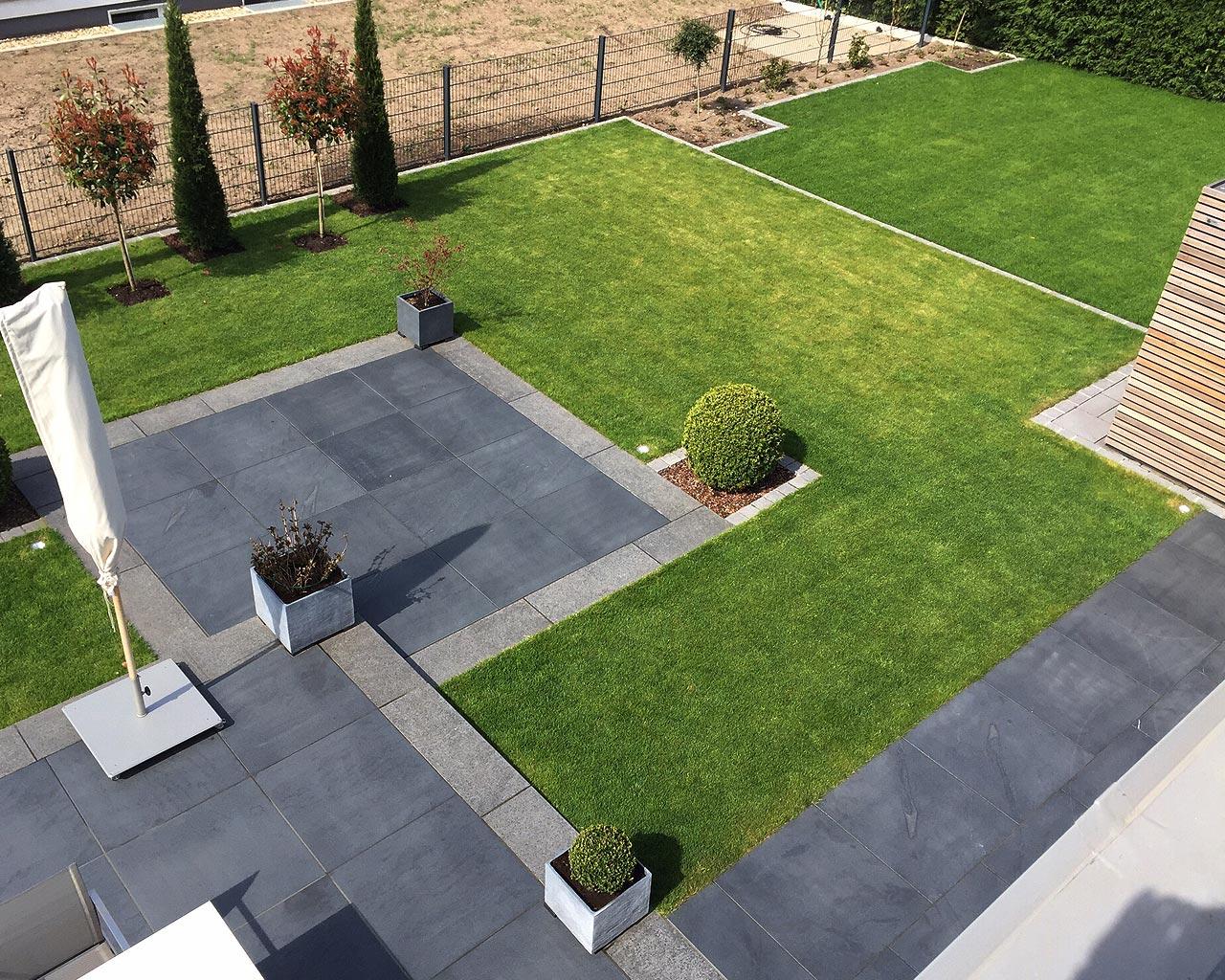 Bezaubernd Garten Terrasse Foto Von Garten-terrasse-symetrisch